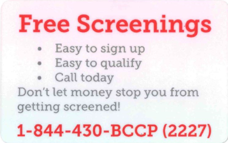 Free Screenings
